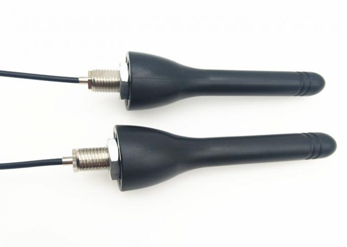Explosion Omni Black 433 MHZ Antenna Right Angle Connector Available