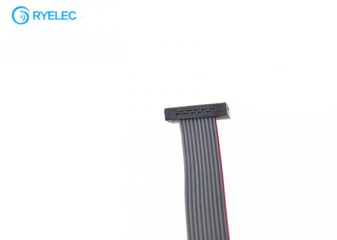 1.27mm Idc Cable 10P Double Row 2*5 Pin Unmanned Aerial Vehicle Inner Flat Flex Cable