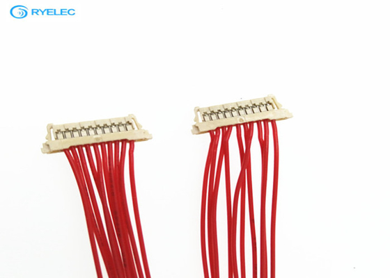 10 Pin Molex Connector Custom Wire Harness For PC And Computer Pressing Type