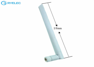 High Gain SMA Male RP 2.4G 5.8GHZ Indoor WIFI Antenna Dual Band 5db Rubber supplier