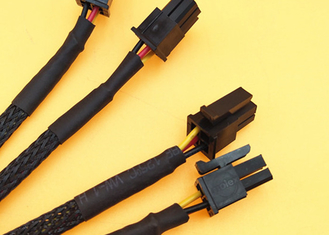 2*2p Molex 43025 Black Connector Micro Fit 3.0mm Pitch To 3pin Jst - Ph2.0 26awg Wire Harness supplier