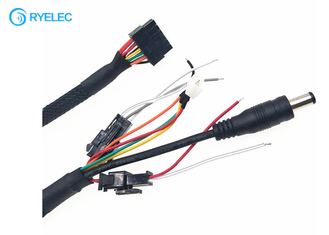 Micro Fit 3.0 Molex 43025-1200 To 2.1*5.5mm Power Jack Custom Wire Harness With PH 2.0-4 Pin 2 3 Pin Jst - Sm supplier