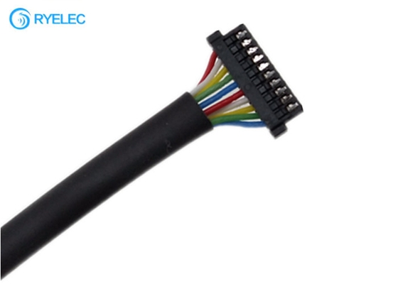 Ul1571 32 Awg Custom Harness 0.8mm Pitch 10 Pin DF52-10P-0.8C Hirose PVC Cable supplier