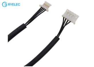 Ultrathin Molex 51146-0400 1.25MM To JST PHR-5 2.0 6pin UL571 28AWG Wiring Harness For Lcd supplier