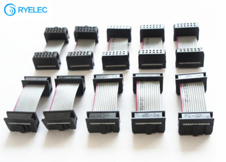 1.27mm Pitch Flat IDC Ribbon Cable Assembly With Traditional IDC Connector supplier
