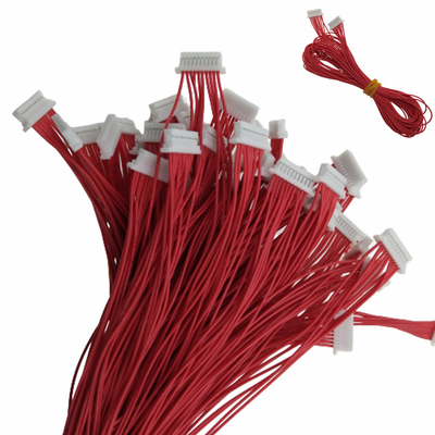 2.54mm Pitch 10Pin Female Plug JST Electrical Wiring Harness supplier