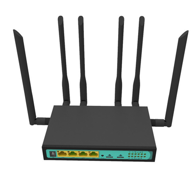 WPA-PSK  LTE 4G Wifi Dual SIM Bonding Router For FireWall QoS VPN supplier