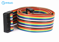 China 26 Pin Idc 2.54 To 26 Pin Colorful Ribbon Flat Cable Can Pressure 2.54 FC Head Connector factory