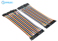 20cm 40 Pin Rainbow Ribbon Cable Female To Female Dupont Ul2651 28 Awg Flat Jumper Cable