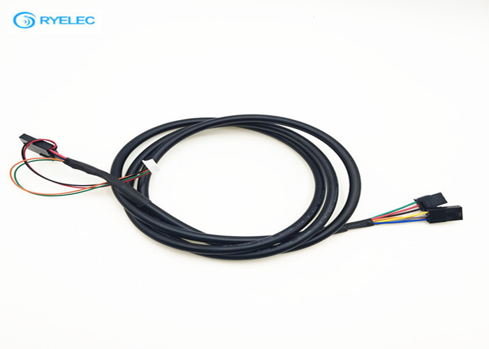Unshield Type Plug Wire Harness , Electronic Molex Connector Power Cable Assemblies