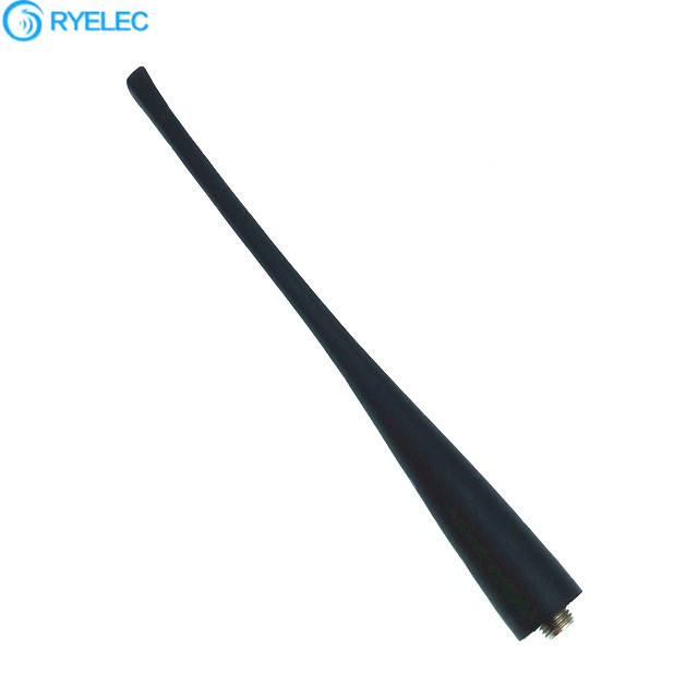 Wireless UHF 400-480MHZ 433MHZ Rubber Whip Duck Antenna For Intercom