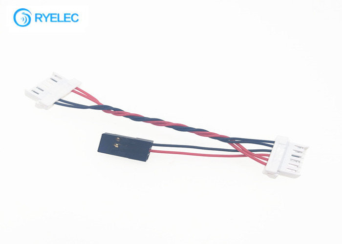 502439-0600 3 Pin Dupont 2.54 Custom Wire Harness To 6p Molex Clik Mate 6  2mm ConnectorQuality Flat Ribbon Cable Assembly & Electrical Wiring Harness factory from  China