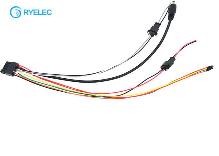 DC Plug Custom Wire Harness 12 Pin Molex 43025 To 2 Pin 3 Pin Male Female  Jst-SM 2.5Quality Flat Ribbon Cable Assembly & Electrical Wiring Harness factory from  China