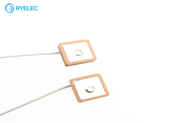 Mini Internal Ceramic Active Patch GPS GlONASS Antenna With UFL IPEX Connector supplier