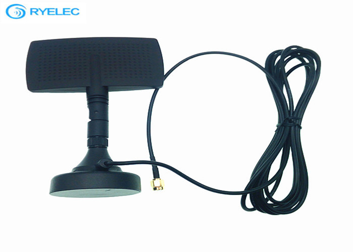 8DBi Indoor Directional Radar Antenna With Magntic Base , High Performance SMA Connector supplier