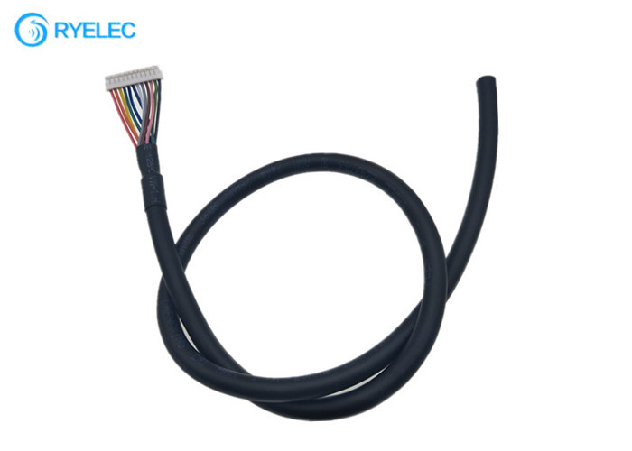 26 Awg Sheathed Insulation Jacket Flexible Pvc Cable Jst 12 Pin Zh 1.5mm Pitch With UL2464