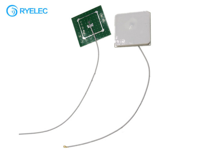 Internal 1616-1626 MHZ Passive Iridium Satellite Antenna Ceramic Patch Square With 1.13mm Cable Ufl