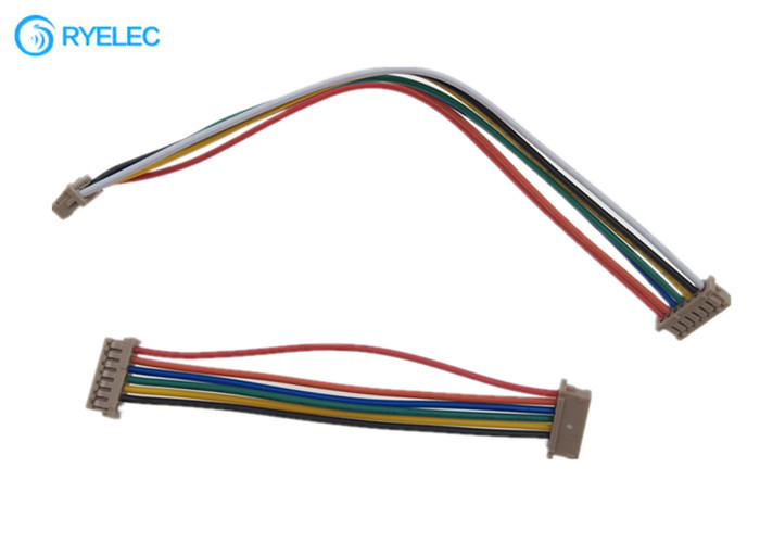 Both Ends Easy Wiring Harness 7 Pin 1.25mm Pitch Hirose Df13-7s -1.25c For  APMQuality Flat Ribbon Cable Assembly & Electrical Wiring Harness factory from  China