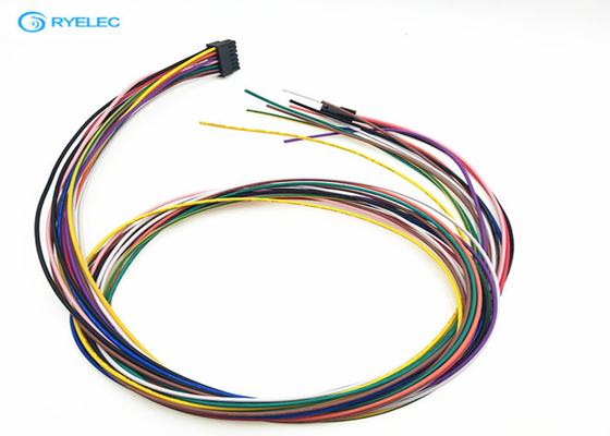 Micro Fit Plug Custom Wire Harness For Medical System / Monitoring Molex Connector