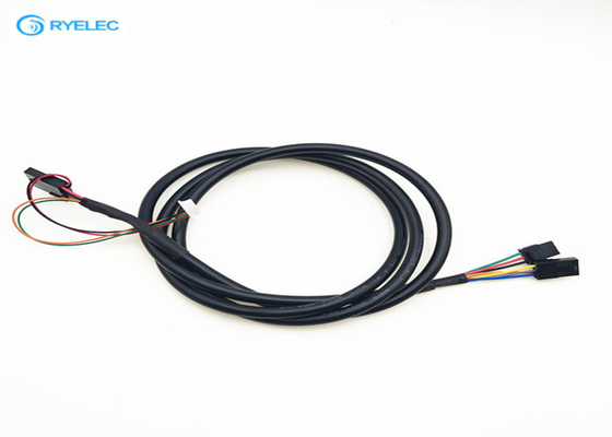 China Unshield Type Plug Wire Harness , Electronic Molex Connector Power Cable Assemblies factory
