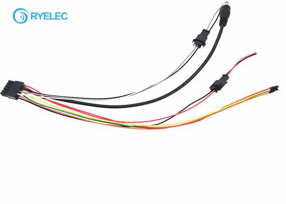 DC Plug Custom Wire Harness 12 Pin Molex 43025 To 2 Pin 3 ...  Wire Molex Harness on asus harness, hitachi harness, ideal harness, delta harness,