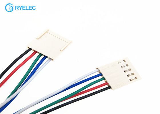 China 5 Pin Extension Custom Wire Harness Molex 2510 Power Connector Pcb Terminal 2.54mm Pitch factory
