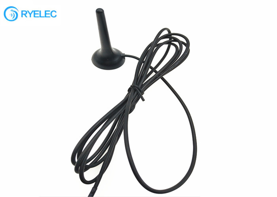 Car Mini 2G 3G 4g Lte External Antenna 800-2600MHZ Magnetic Whip With CRC9