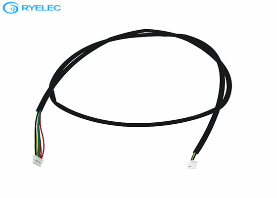 28AWG Custom Wire Harness PH 5 Pin Female 2.0mm Pitch To SHLP 6 Pin 1.0mm Pitch