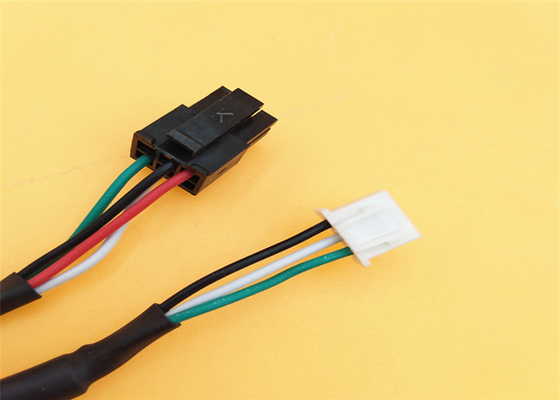 China Pvc Wire Harness Micro Fit 3.0mm 2*2p Molex 43025 Black Connector To 4 Pin Jst - Xh 2464 factory