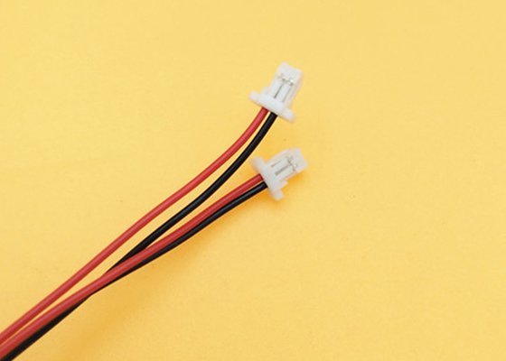 China 500mm Jst Cable Mini Micro Sh 1.0 2- Pin 2 Pin Jst Connector With Wires Cables To 3mm Tinned factory