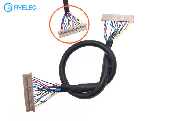 Df14 To Df14 Coaxia Laptop Lvds Cable 20p To 20 Pin Hirose For Remote Controlled Aircraft