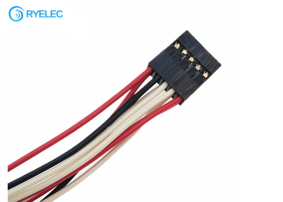 China dupont 2.0mm 2*5pin crimp to dupont 2.54mm pitch 10pin connector wire harness factory