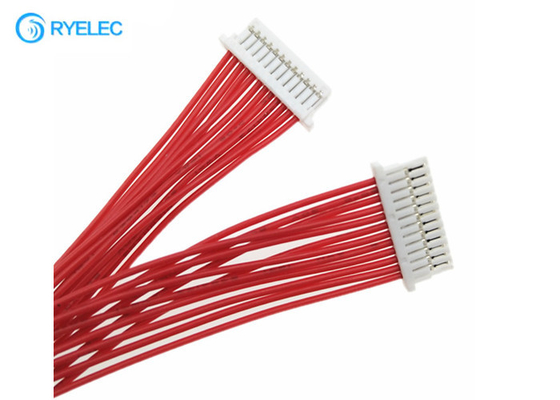 China 12pin 1.0mm Pitch JST SHR-12V-S-B To SHLP-12V-S-B 28AWG Wire Harness factory