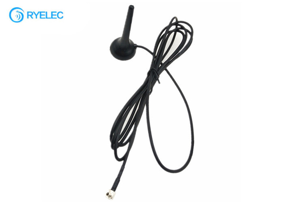 China Car Mini 2G 3G 4g Lte External Antenna 800-2600MHZ Magnetic Whip With CRC9 factory